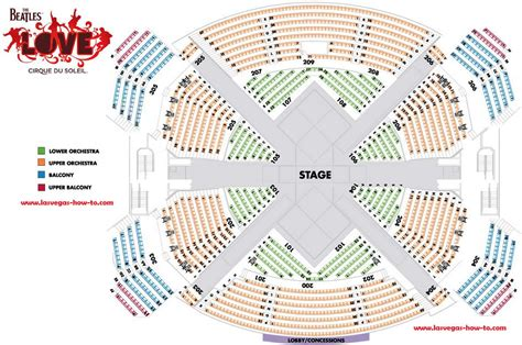 beatles theater seating chart cirque du soleil seating chart mirage brokeasshome