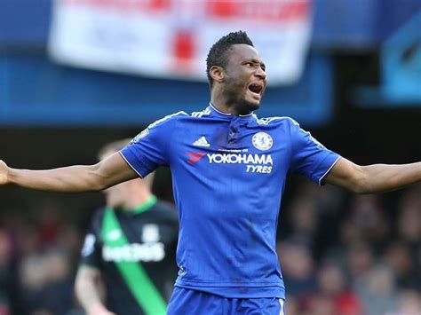 obi mikel goal transfer news mikel set to leave chelsea unless conte offers him team football goal