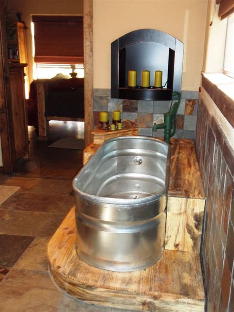 horse trough bathtub trough tub home design ideas pictures remodel and decor
