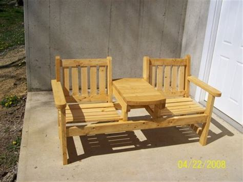 outdoor bench seat plans two seat garden bench by steveosshop lumberjocks com woodworking community
