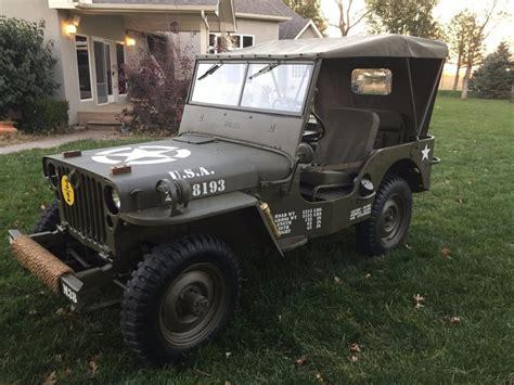 1952 Willys Jeep Jeep 1952 Willys M38 Na Prodej