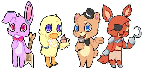 imagenes kawaii de five nights at freddys five nights at freddy s gif by puqqie on deviantart