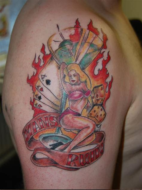 mans ruin tattoo mans ruin by diamondback on deviantart