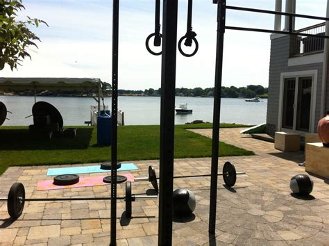 crossfit home with a view crossfit
