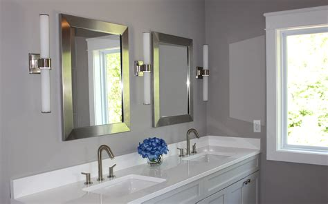 bathroom mirror sconces lighting your master bath ann arbor builders