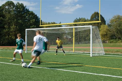 football as football complete football goal post and soccer goal package
