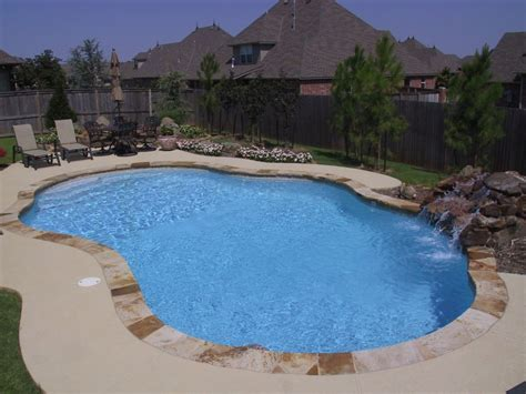 free form pools free form pool designs in okc norman ok blue haven