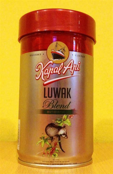 Kapal Api Coffee Bag Pack Of 3 authentic kapal api luwak blend coffee 200g ground coffee