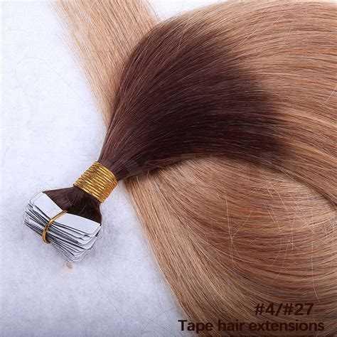 30 inch 4 27 brown 10 30 inch ombre in remy human hair extensions two