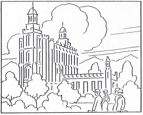 coloring pages lds church lds church coloring pages coloring home