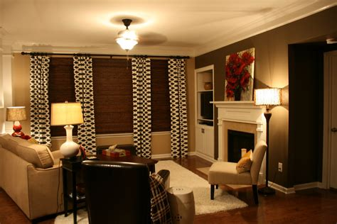 Accent Walls Living Room | the bozeman bungalow living room accent wall done