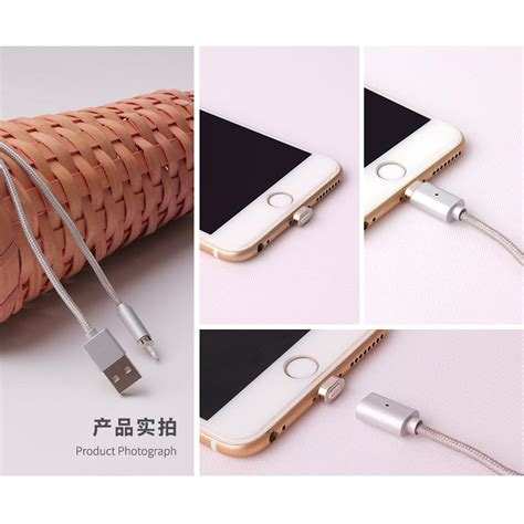 2 In 1 Kabel Charger Magnetic Micro Usb Lightning For Smartphone Usb Kabel Charger Magnetic 2 In 1 Micro Usb Lightning