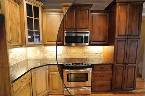 Oak Kitchen Cabinet Stain Colors : Popular Kitchen Cabinet