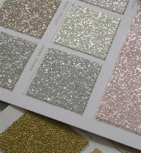 glitter wallpaper feature wall glitter tile backsplash salon pinterest glitter