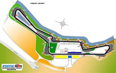 Layout Sirkuit Internasional Sentul | sirkuit sentul siapkan rp200 miliar demi motogp
