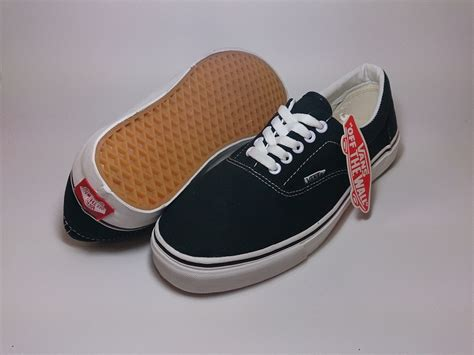 Sepatu Vans Era Black White vans era classic black white shoes shop id