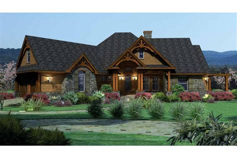 ranch house designs home plan homepw09962 2091 square foot 3 bedroom 2
