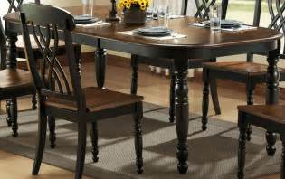 Dining Room Table Black by Homelegance Ohana Black Dining Table 1393bk 78