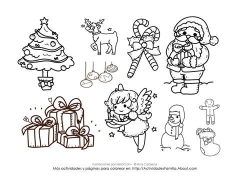 imagenes de navidad para colorear en preescolar la navidad dibujos para colorear ciclo escolar