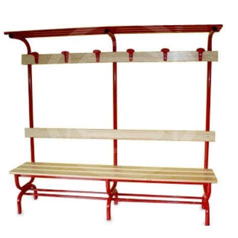 dressing room benches dressing room bench with shelves coat hanger hat rack