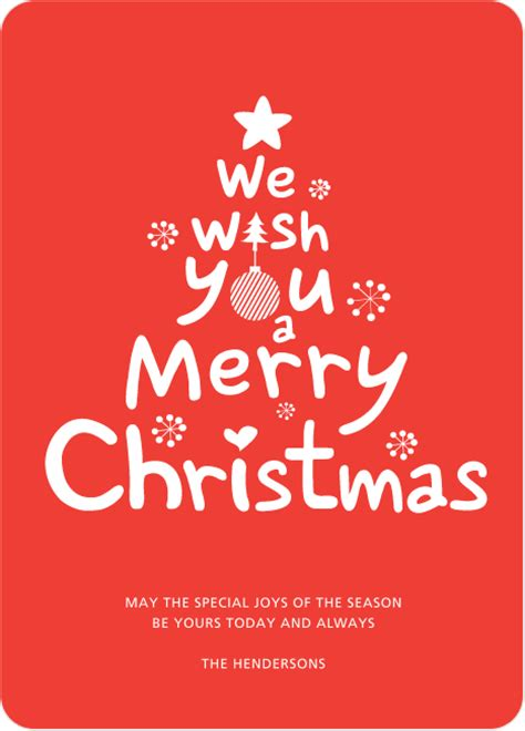 merry christmas card paper culture