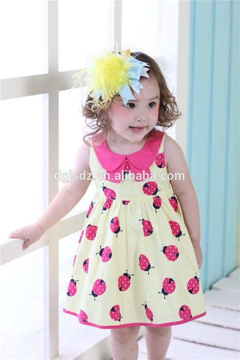 Baby Casual 7 baby cotton dresses designer frock 7 years