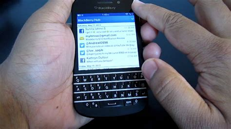 reset blackberry q10 blackberry q10 z10 q5 hub trick refreshing reset the hub