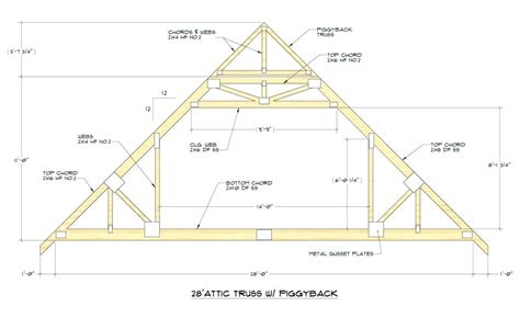 Attractive Gambrel Floor Plans #8: Attic-trusses-roof-attic-room-truss-calculator.jpg