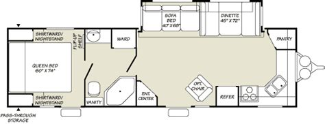 prowler cer floor plans 2007 fleetwood prowler travel trailer rvweb com