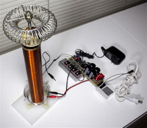 how to build a simple tesla coil plain speaker coil driver circuit