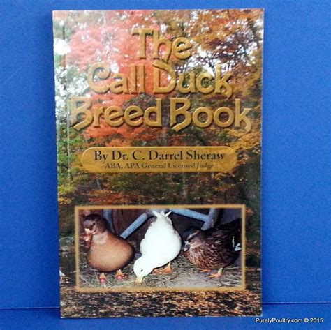 breed book call duck breed book