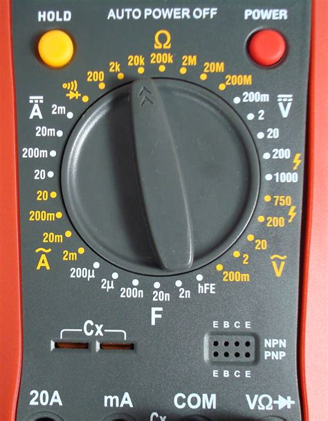 how to test a capacitor by multimeter new low price digital multimeter csi2010 circuit specialists