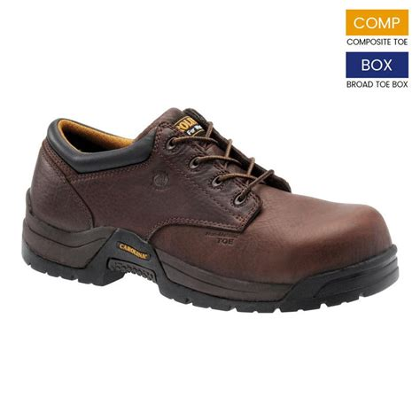 mens oxford work shoes carolina s composite toe oxford work shoe ca1520