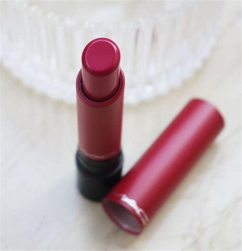 Mac Liptensity mac liptensity lipstick marsala review swatches