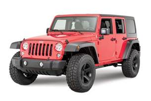 Jeep Flares Mopar 174 77072342 High Top Fender Flares For 07 17 Jeep