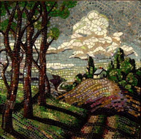 mosaic artists gallery photos of landscape mosaics nature and birds showcase mosaics
