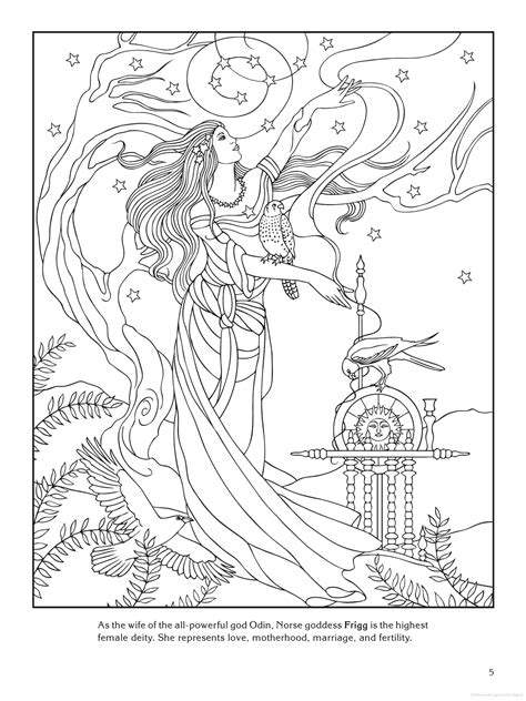 Norse Mythology Coloring Pages