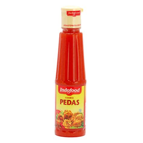 Saus Sambal Red1 135 Ml saos sambal pedas indofood 135ml