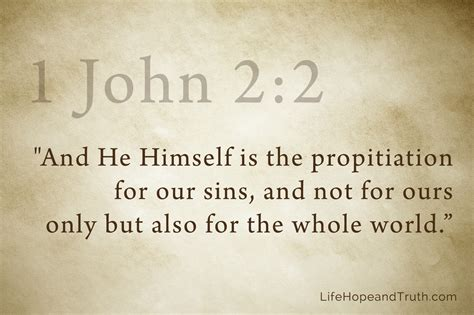 The Sins Of Scripture propitiation