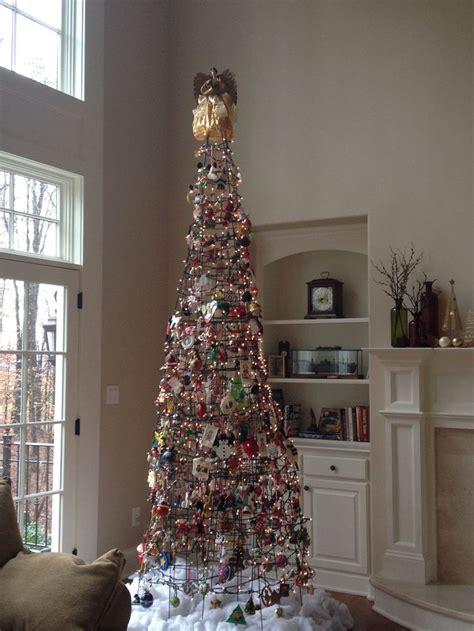 unique tomato cage christmas tree christmas holidays christmas tree christmas crafts
