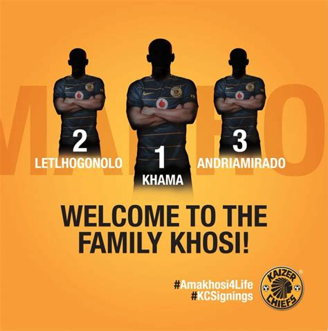 kaizer chiefs signs three new players sapeople your