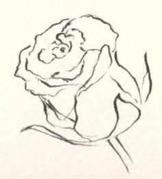 rose drawings rose art drawings drawing of a rose