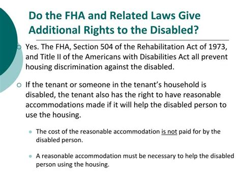 section of the act fha ppt the south carolina residential landlord tenant act