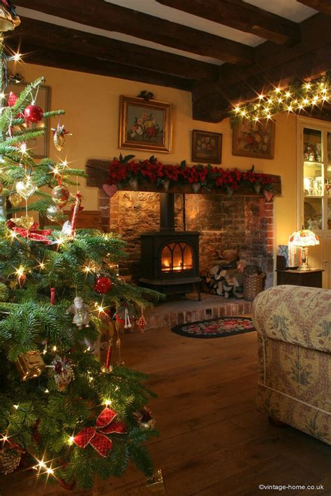 17 best ideas about cottage christmas on pinterest