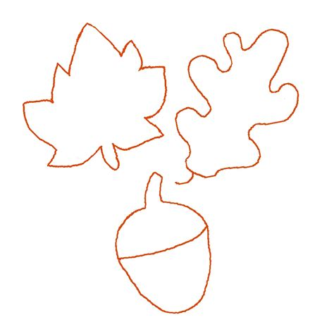 Autumn Leaf Templates fall leaf template cyberuse