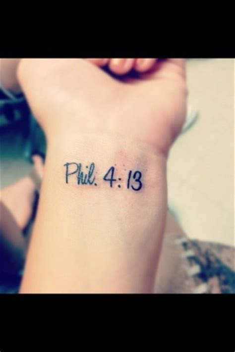 phil 4 13 tattoo exact tattoo i want next just in a