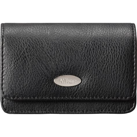 nikon cases nikon leather for coolpix a digital black 13256