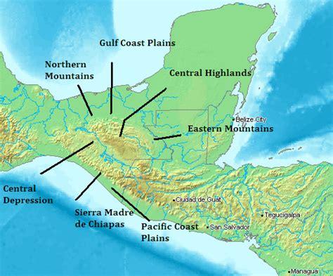 map of mexico chiapas chiapas mexico geography