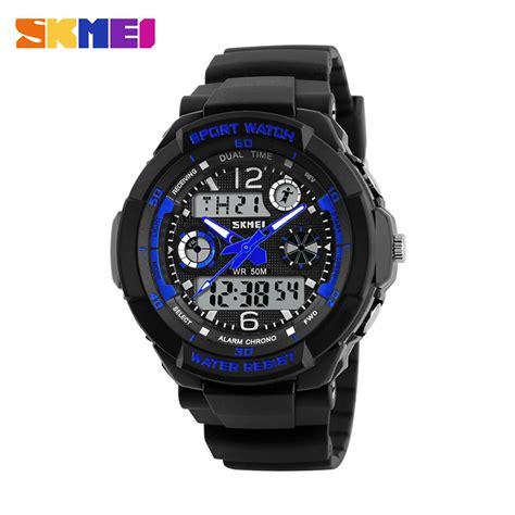 Jam Tangan Tst Blue skmei jam tangan anak ad1060 blue jakartanotebook