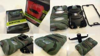 Griffin Survivor S4 Green Garansi wts note 3 cases and accessories